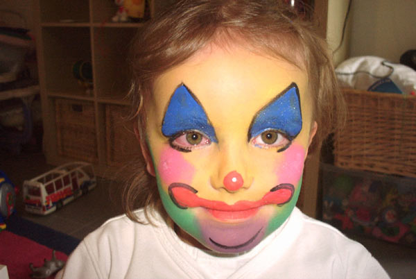 Maquillage enfants grimage enfant maquilleuse - Maquillage simple enfant ...